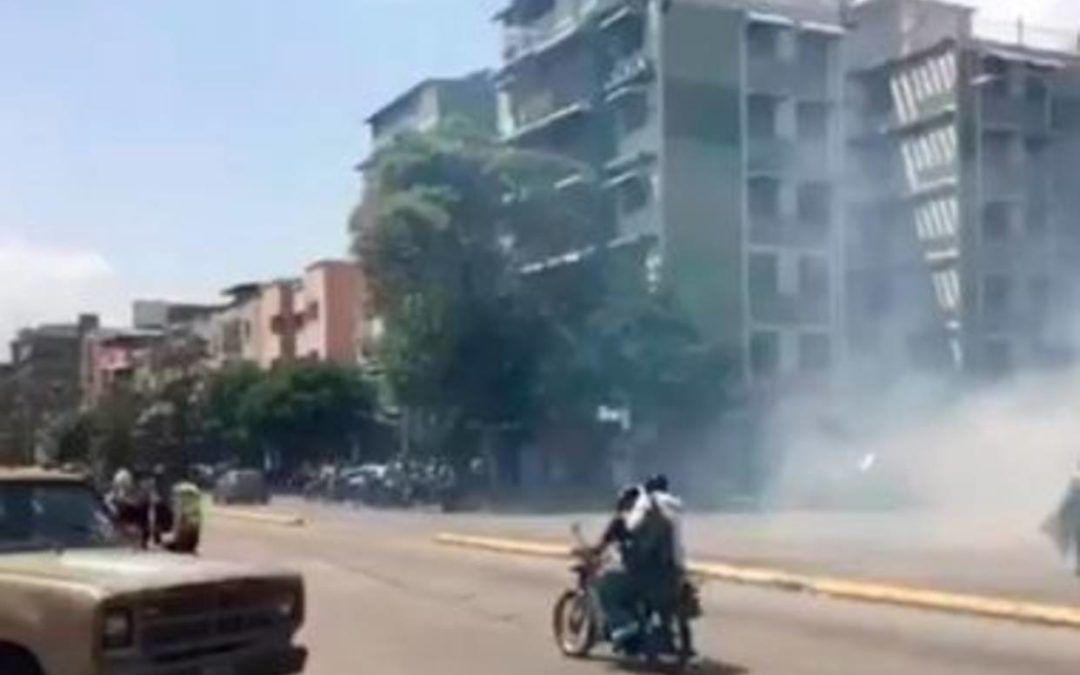 #26M PNB reprimió a manifestantes en la avenida Victoria