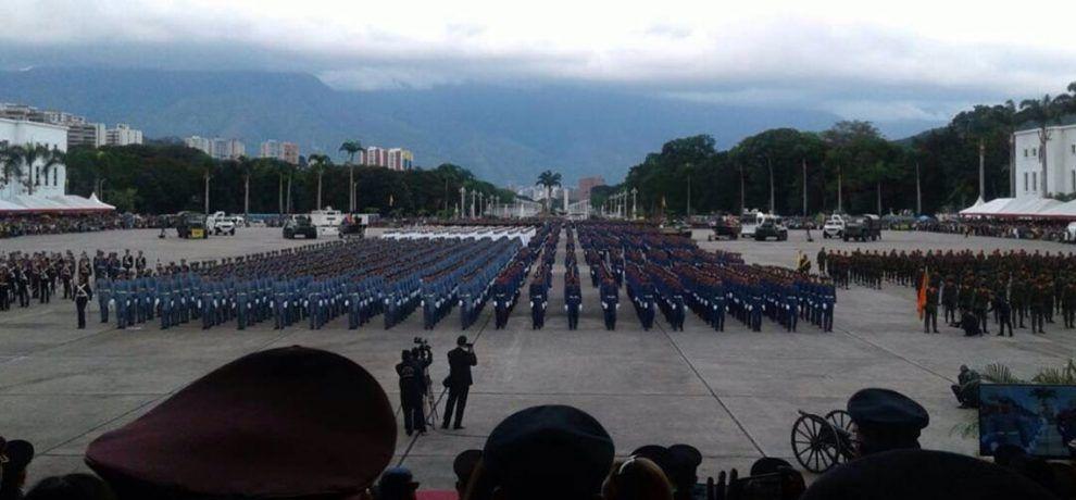 FANB rinde homenaje a Chávez con acto de Investidura del Cadete