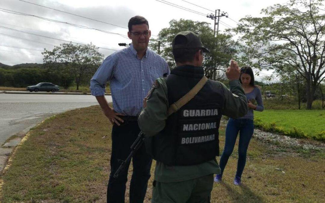 GNB intentó impedir que Diputado Daniel Antequera denunciara corrupción en cementera de Lara