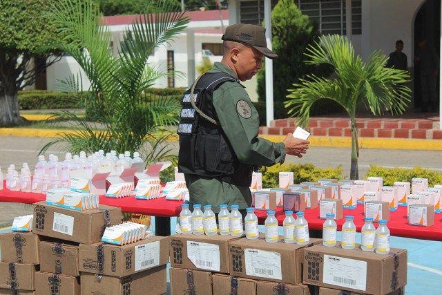 GNB incautó en Carabobo cargamento de antibióticos