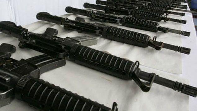 Inutilizadas 945 armas de fuego incautadas en los estados Bolívar y Delta Amacuro