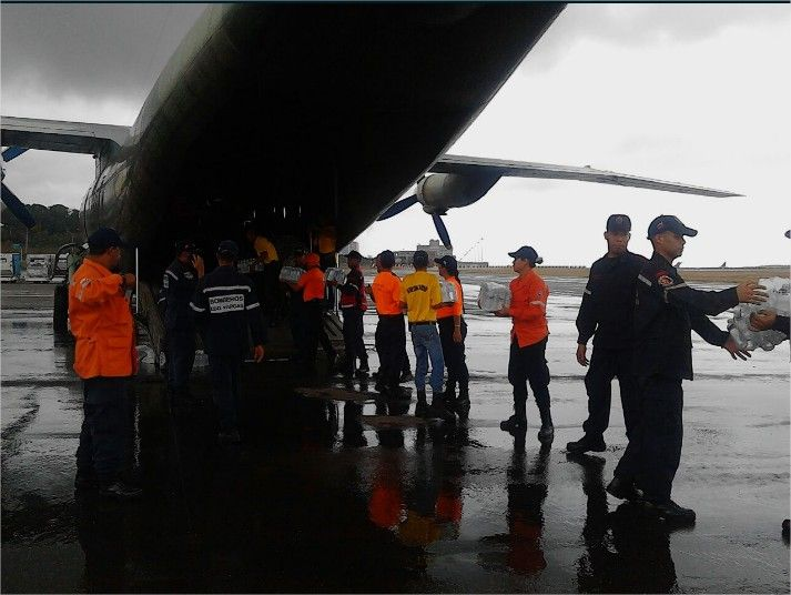 Venezuela envió avión de la FANB con ayuda humanitaria para Perú