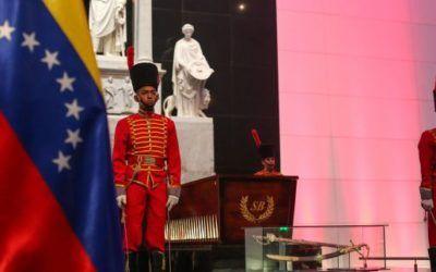 Bolívar: Celebran con desfile cívico militar bicentenario de decreto que incorporó octava estrella al Pabellón Nacional