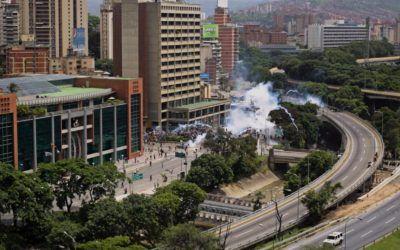 #24A Hirieron de bala a un manifestante durante represión en Bello Monte