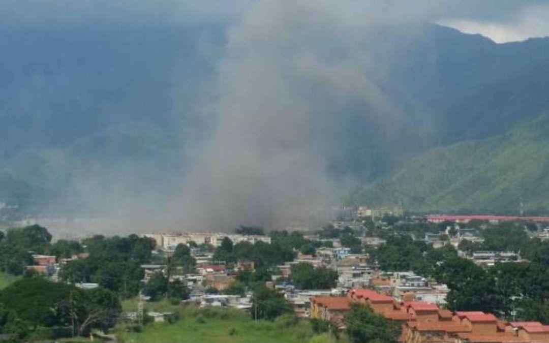 Reportaron explosión en las inmediaciones de Cavim en Aragua #18Octubre
