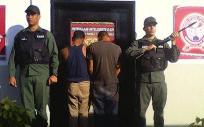 """GNB desmanteló la banda """"los Valencianos"""" durante patrullaje inteligente"""