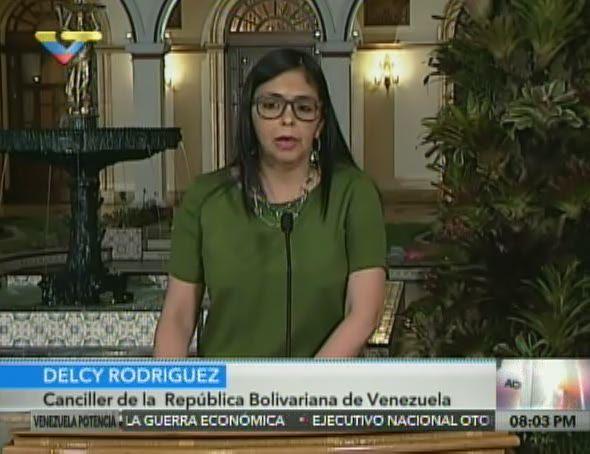 Delcy Rodríguez: Venezuela realiza despliegue cotidiano de combate al paramilitarismo colombiano y resguardo de su territorio en la frontera