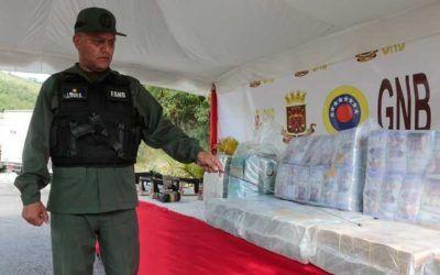 GNB incautó 161 millones de bolívares en efectivo con destino al estado Bolívar