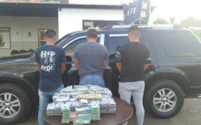 GNB interceptó contrabando de más de 40 millones de efectivo