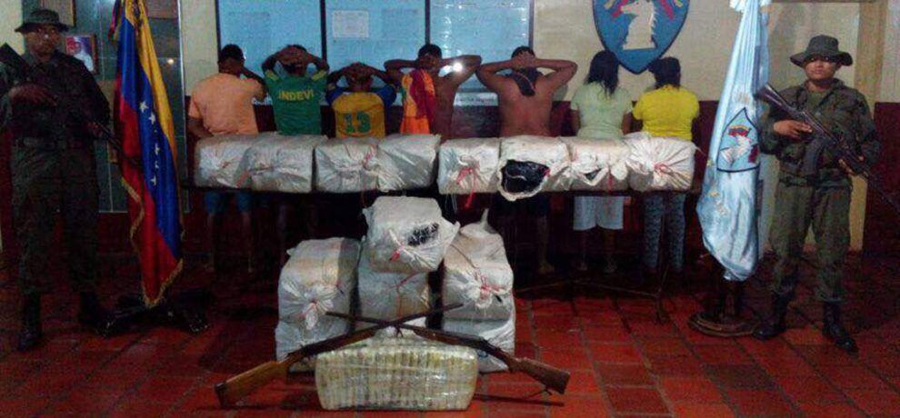 Efectivos militares incautaron más de 300 kilos de droga en el estado Apure