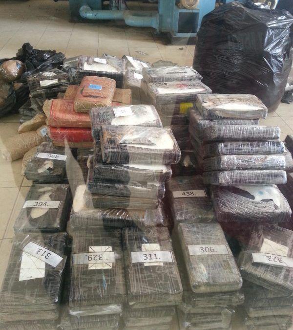 GNB Zulia incineró 261 kilogramos de droga