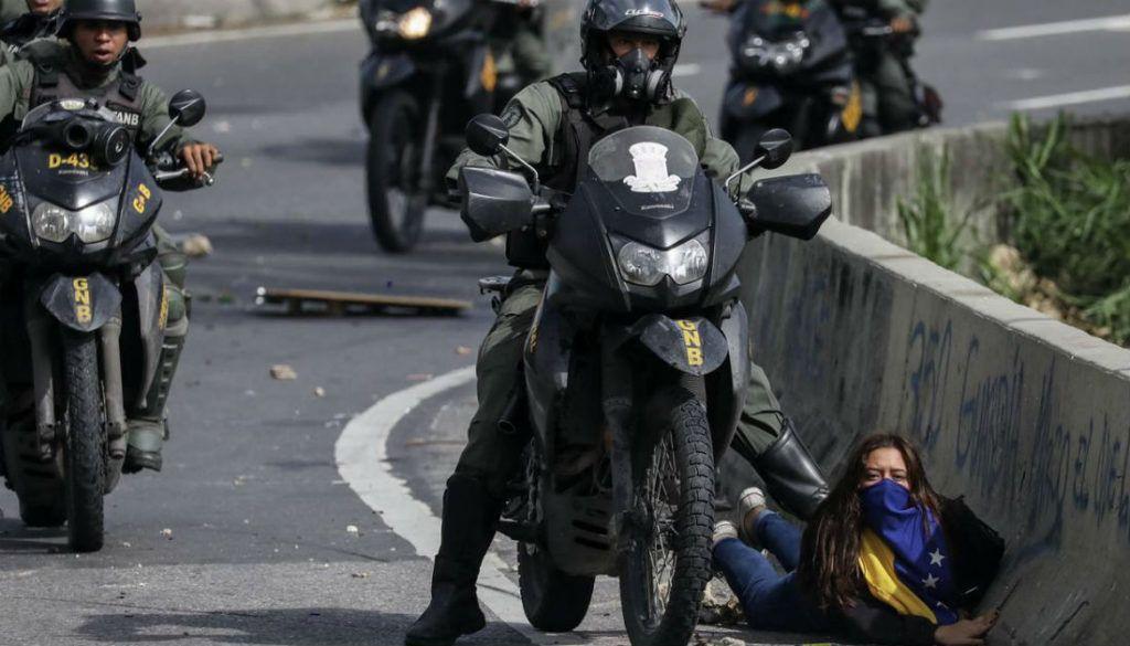 Militares que pisaron y detuvieron a Paula Colmenárez no han sido juzgados