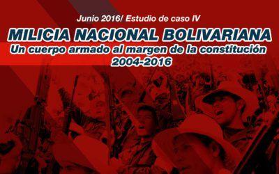 Milicia Nacional Bolivariana: Un cuerpo armado al margen de la Constitución