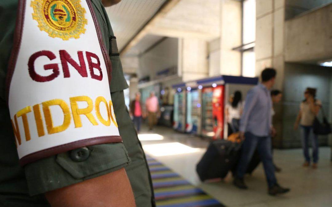 Detuvieron a GNB y dos trabajadores de Maiquetía por caso de intento de envío de droga
