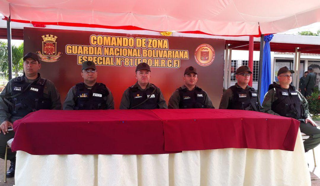 382 personas fueron detenidas por la GNB en Anzoátegui