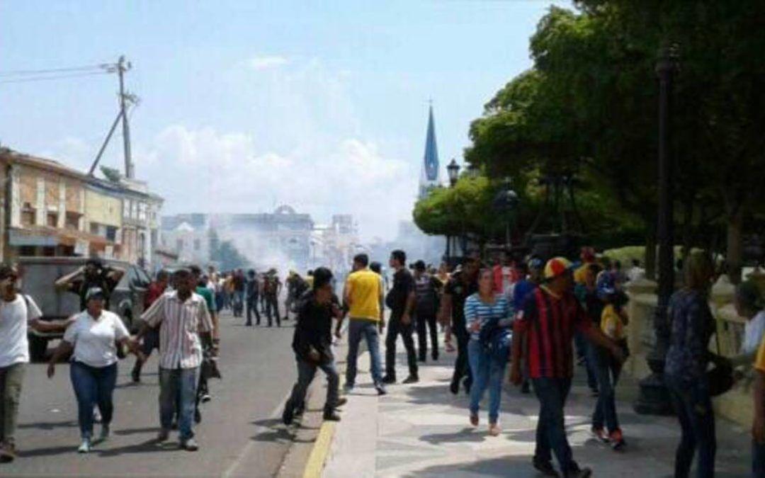 GNB reprimió juramentación de Juan Pablo Guanipa en el Zulia