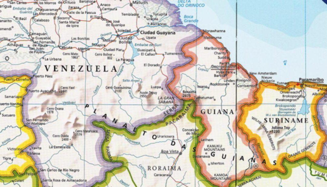 Guyana y Venezuela deliberan sobre controversia en región fronteriza