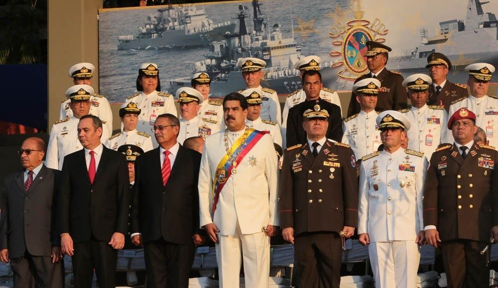 """Maduro pidió a Trump """"aclare"""" declaraciones del director de la CIA sobre Venezuela, durante acto por natalicio de Bolívar"""