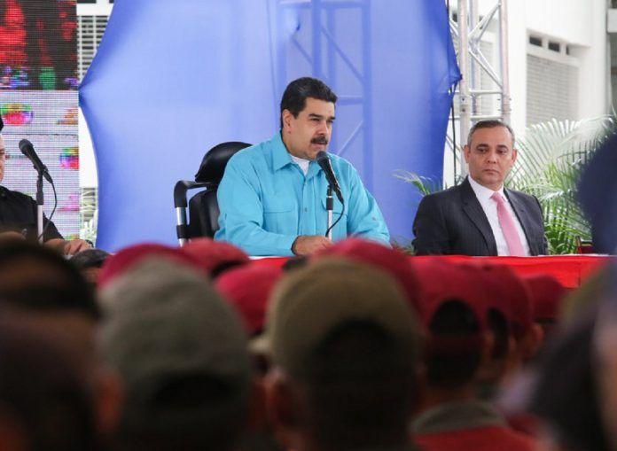 Maduro ofrece a Trump y Santos apoyo técnico y militar contra el narcotráfico