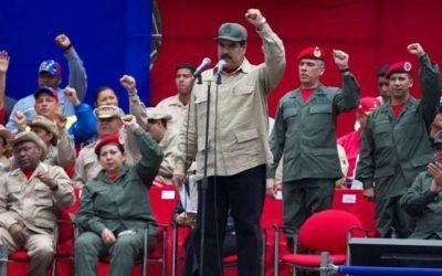 Ocho dirigentes del PSUV fueron ascendidos de rango en la Milicia Bolivariana