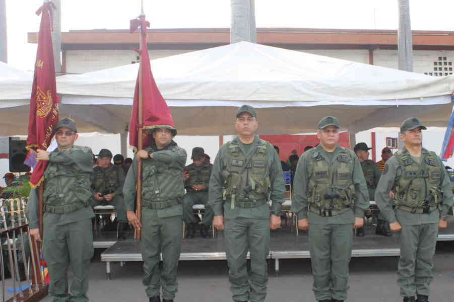 Destacamentos de la GNB en Anzoátegui tiene nuevos comandantes