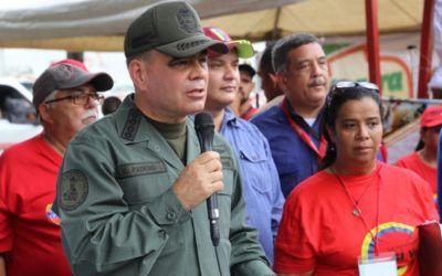 FANB velará por la seguridad de los electores el 10-D, dijo Padrino López