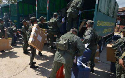 Robaron cuatro fusiles AK-103 en centros electorales de Portuguesa y Barinas