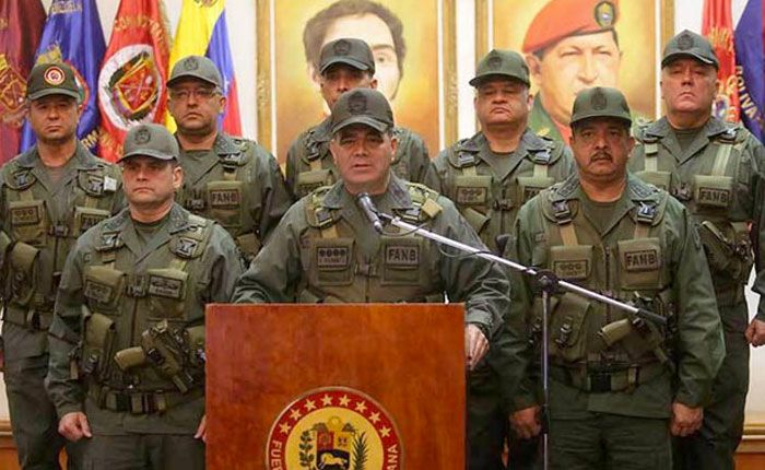 Por Plan República, gobierno deja mando de policías regionales a la FANB
