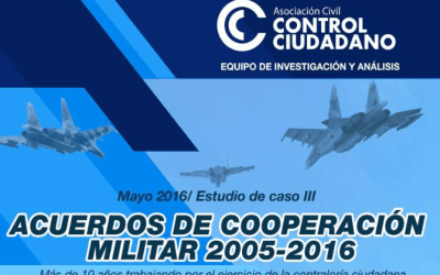 Acuerdos de cooperación militar 2005-2016