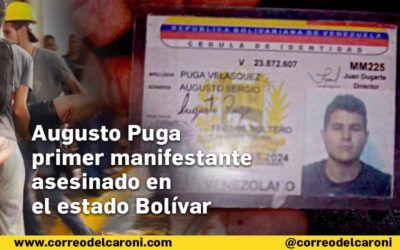 #24M Escalada represiva de Maduro asesina a un estudiante de Medicina en Ciudad Bolívar