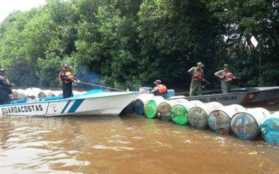 Incautaron 23.100 litros de combustible en Zulia, durante operativo en el que participó la FANB