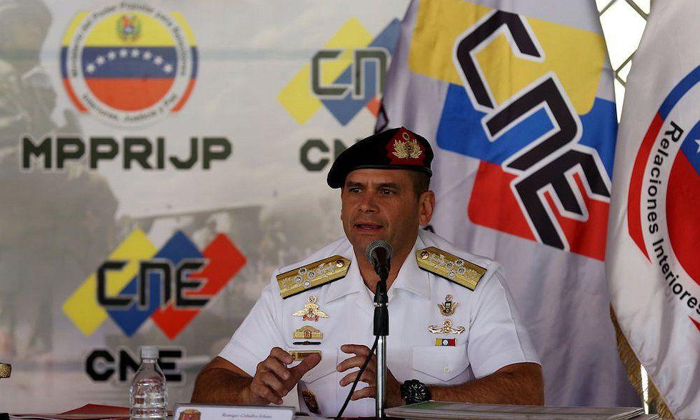 Aplicarán justicia militar a quienes afecten Plan República en elecciones de constituyente