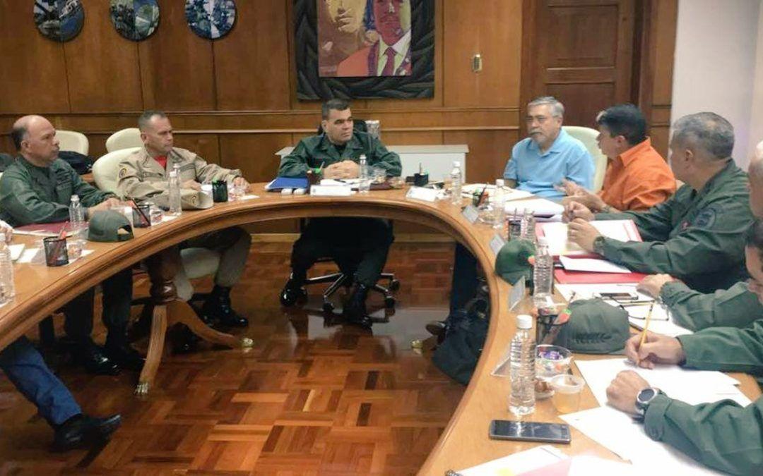 Ministro Vladimir Padrino presidió reunión del Comando Nacional de la Gran Misión Abastecimiento Soberano