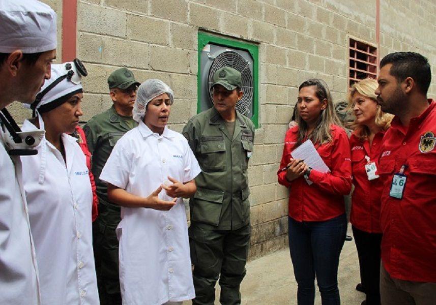 Complejo Industrial Tiuna I recibió visita de inspección a sus procesos de producción