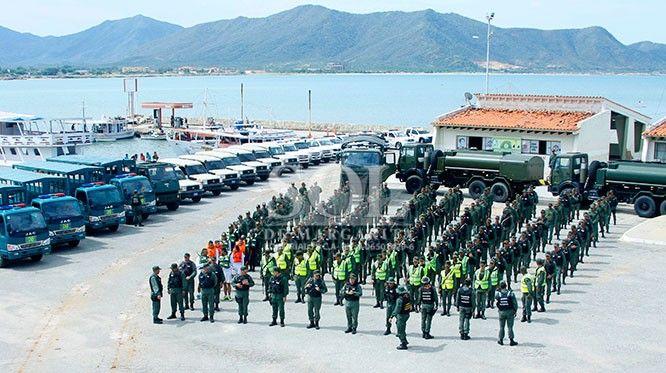 Activan dos mil funcionarios militares y policiales para festividades de la Virgen del Valle