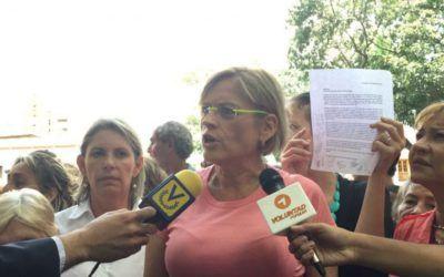 Adriana D'Elia: Nuestra lucha es por los funcionarios de la GNB y sus familias que también padecen esta crisis