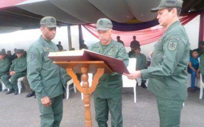 General Lesley Reyez Chirinos es el nuevo comandante de la Zona 41 Carabobo de la GNB