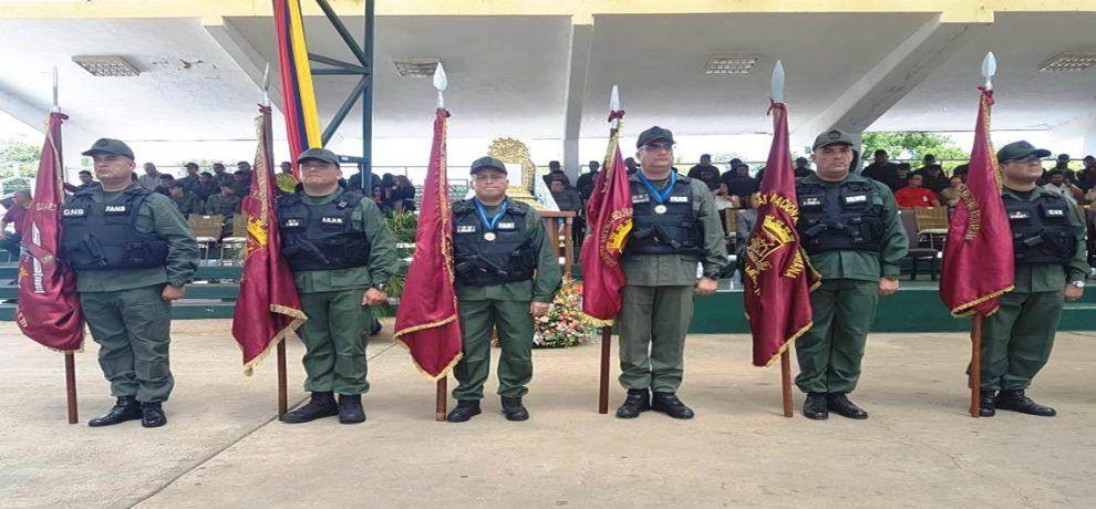 Unidades tácticas de la GNB en Zulia tienen nuevos comandantes