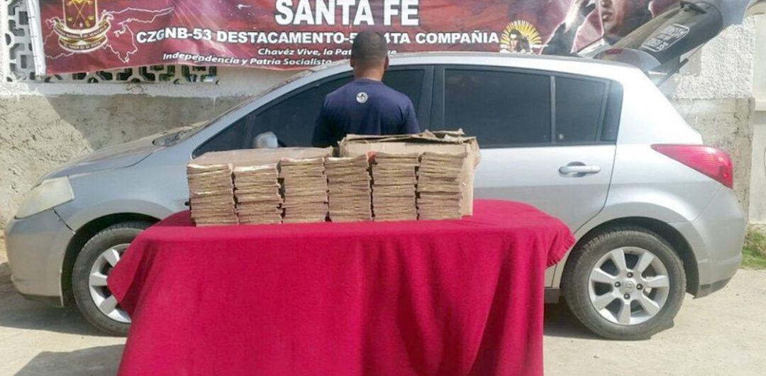 FANB decomisa 88 millones de bolívares en billetes de 100 en región fronteriza