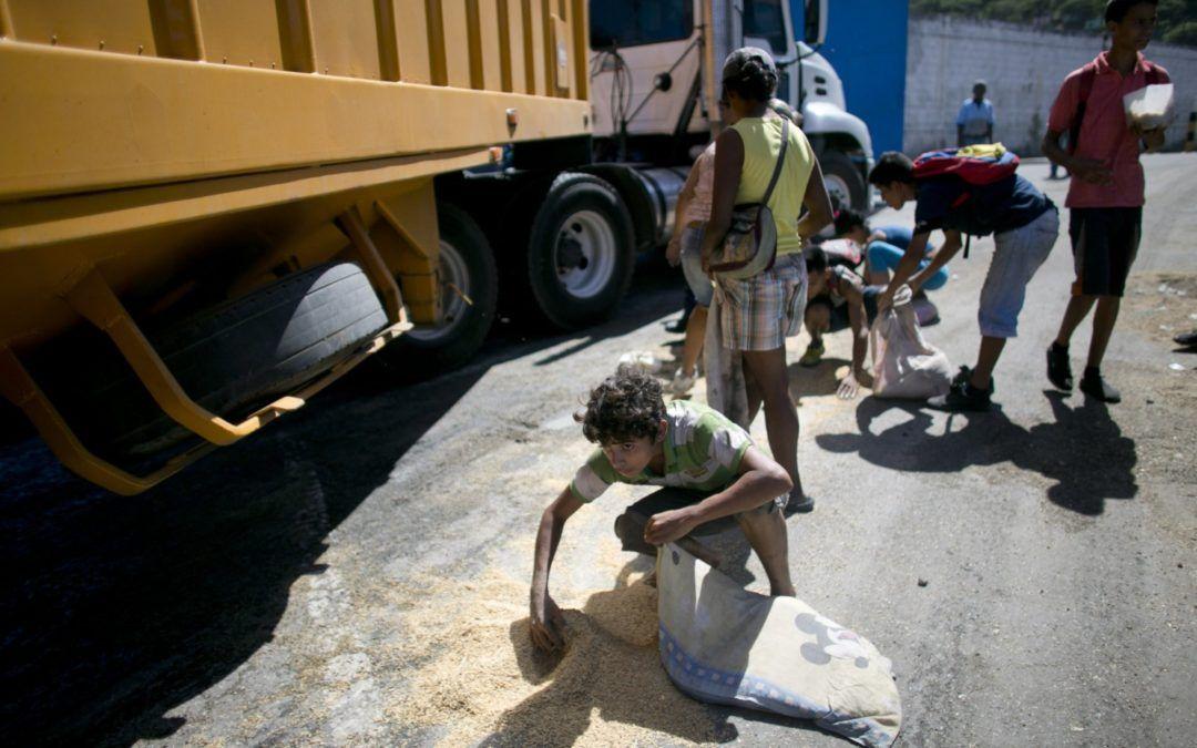 Venezuela. Militares trafican comida mientras el país pasa hambre