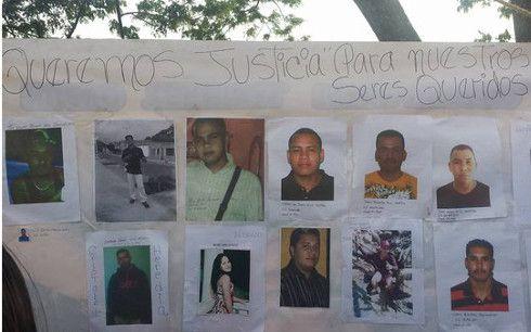 Violaciones de Derechos Humanos 2016. Caso Masacre de Tumeremo